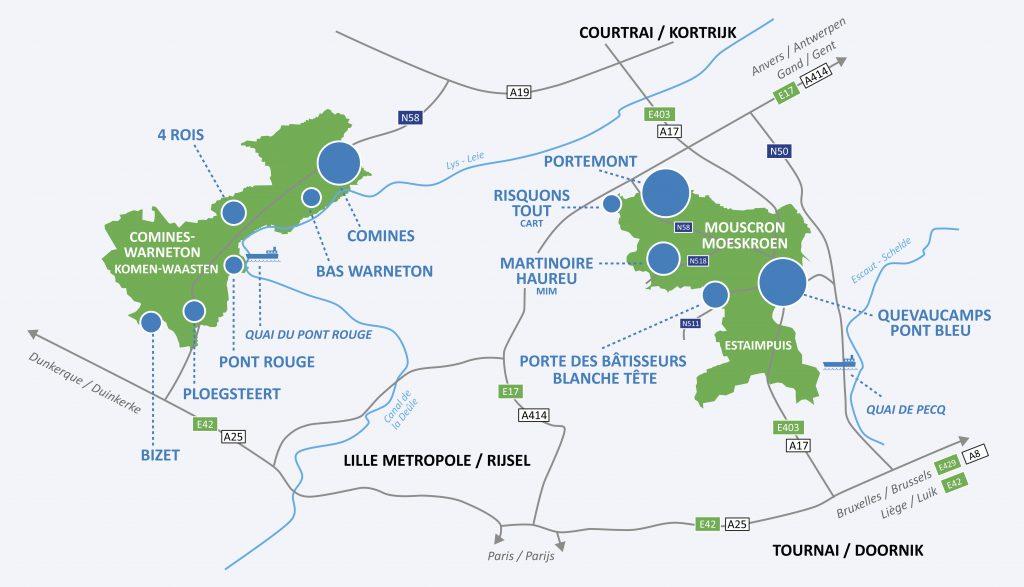 IEG - Carte de nos communes