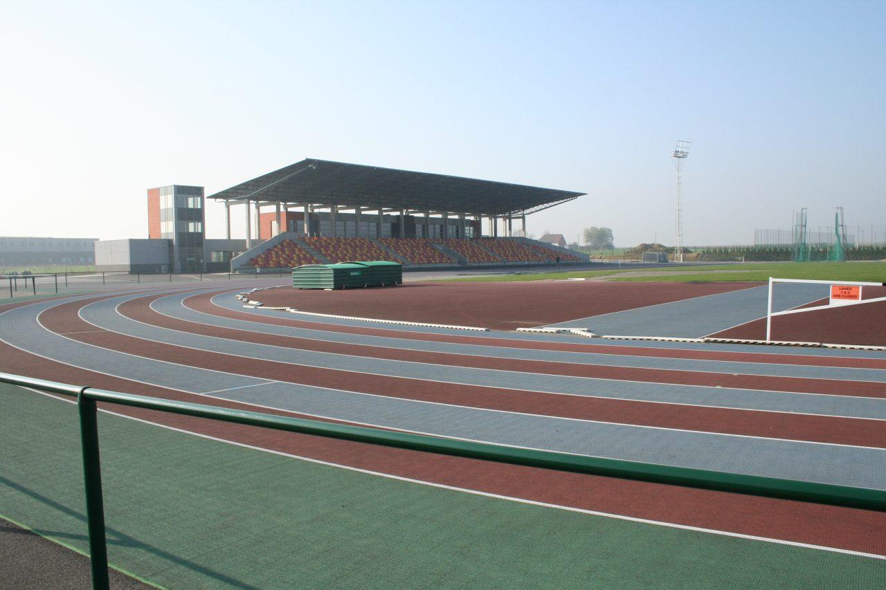 IEG - Piste d'athlétisme